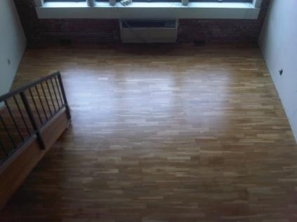 Refinished Prefinished Flooring with Pallman Finish